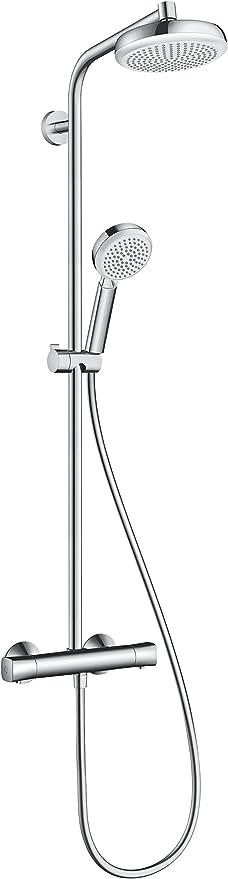 Hansgrohe 27264400 Crometta 160 columna de ducha, 4 tipos de ...