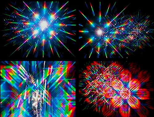 Rainbow Symphony 3D Fireworks Glasses Laser Viewers - 12 Boxes of 50 Pieces Each by Rainbow Symphony (Image #4)
