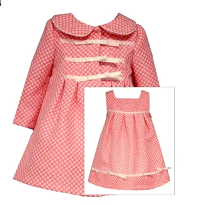 e6afd443b05c Image Unavailable. Image not available for. Color  Bonnie Jean Baby Girls  Coat Dress ...