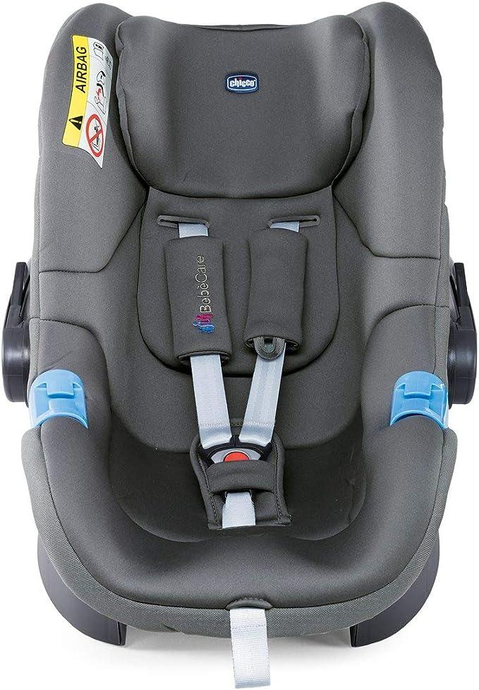 Cool Grey color gris Silla de coche Grupo 0 con sistema de alarma Beb/ècare Chicco Oasys 0+