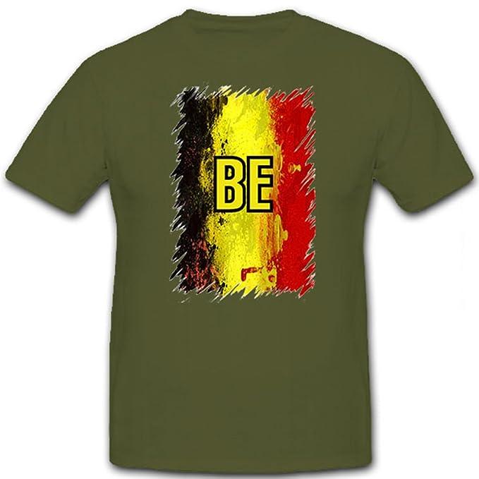 Copytec Bélgica be belgië Belgique Negro Amarillo Rojo National Camisa Camiseta De Fútbol Deporte Ejército Flamen - Camiseta # 12638: Amazon.es: Ropa y ...