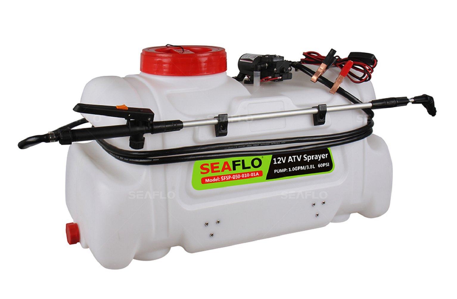 Seaflo ATV Spot Sprayer - 12 Volt, 1 GPM, 13 Gallon