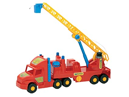 afabde56063 Amazon.com: Wader Super Trucks: Fire Engine: Toys & Games