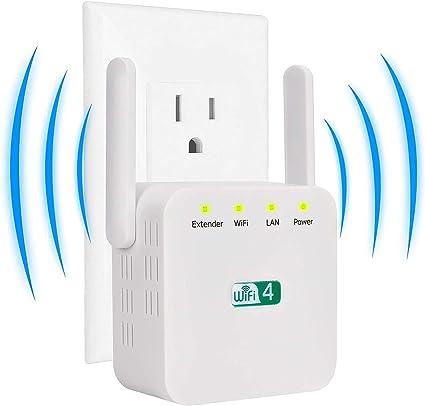 Einfache Einrichtung TCNEWCL 300Mbit//s WLAN Repeater WLAN Verst/ärker f/ür zu Hause Funktioniert mit Allen WLAN-Routern