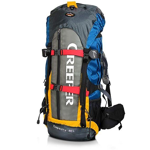 CREEPER 60L profesional marco interno mochila para senderismo de Montaña: Amazon.es: Deportes y aire libre