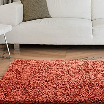 Lavish Home High Pile Shag Rug, 21 x 36