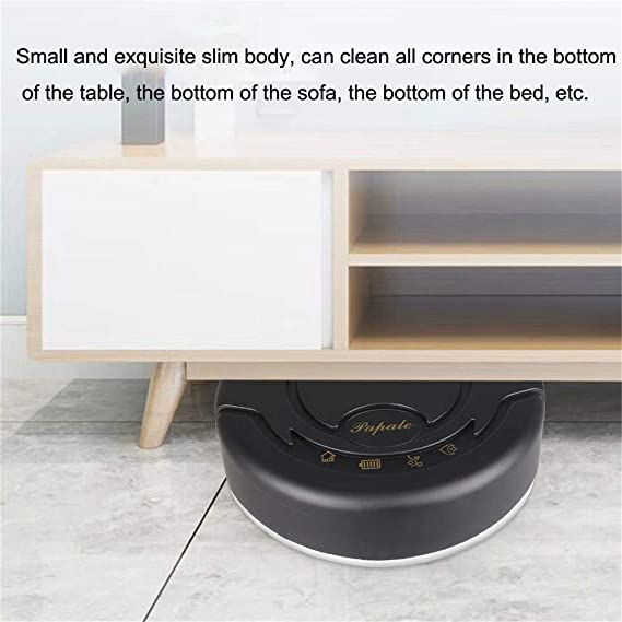 Amazon.com: Pro Robotic Vacuums,BCDshop Rechargeable Automatic Smart ...