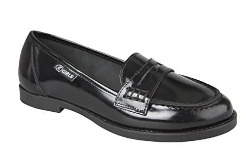 Mocasin ZGIRLS University FLORENTIC Negro: Amazon.es: Zapatos y complementos