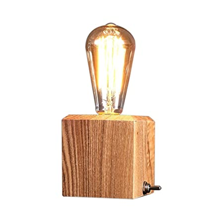 Desinger Tiny Box Lámpara de mesa Lámpara de lectura Lámpara de ...