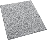 2'x3′ Pewter Area Rug Carpet. 25 oz. Face Weight. 1/2″ Thick. Polyester. Loose and Soft Frieze. Review