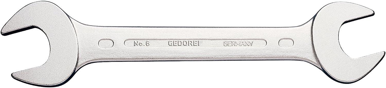 Gedore 6-4X4,5 Double cl/é mixte D3110 4,0 x 4,5 mm Argent