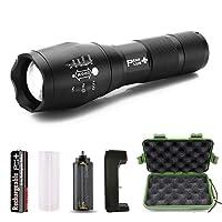PeakPlus Rechargeable Tactical Flashlight LFX1000