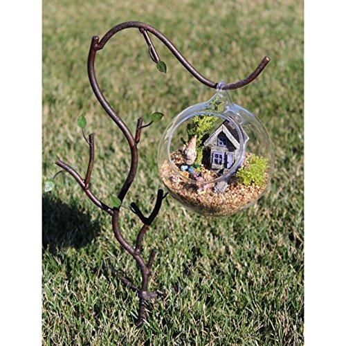 [Build Your Own DIY Terrarium Kit Fairy Gardens Glass Ball Tiny Accessories Set of 8] (Fairy Princess Costume Diy)