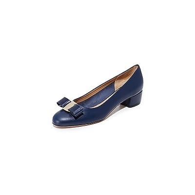 Salvatore Ferragamo Women's Vara Low Heel Pumps