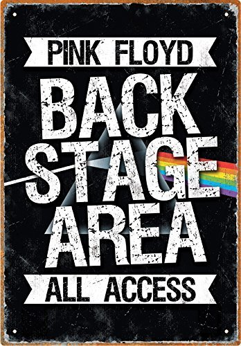 Froy Aquarius Pink Floyd Backstage Pared Cartel de Chapa ...