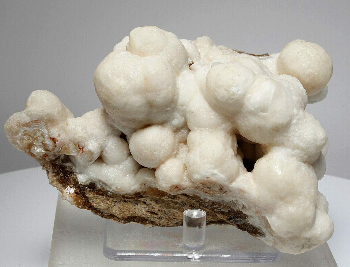 Beautiful Bubbly Aragonite Calcite from Mibladen, Morocco (5832)
