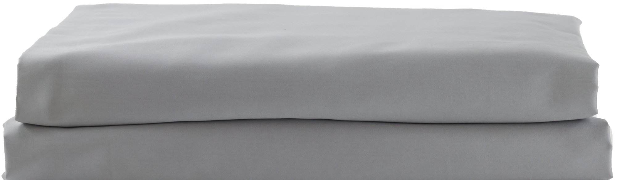 Hotel Sheets Direct 100% Egyptian Cotton 4 Piece Bed Sheet Set - Luxurious Sateen Weave - Ultimate Softness (Gray, Queen)