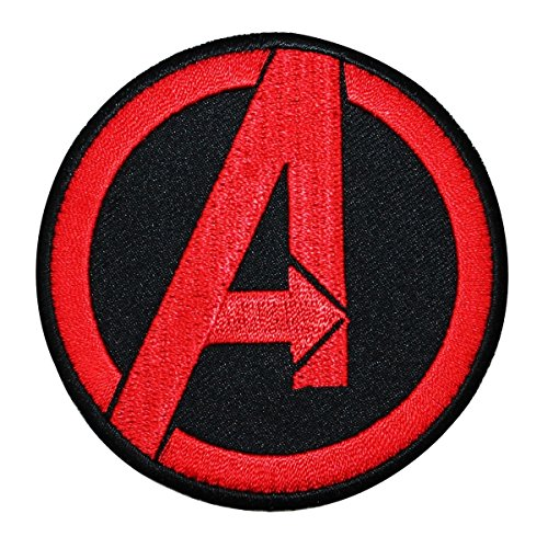 Marvel Avengers Logo IronOn Patch Superhero Team DIY Costume Accessory Applique -