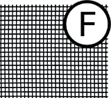 """Saint-Gobain ADFORS FCS8556-M Fiberglass Screen, 36"""" x 25, Charcoal"""