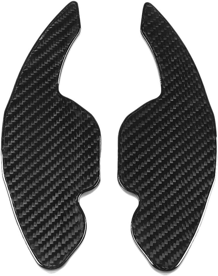A4 A6 EBTOOLS Paddle Shift Extension,2pcs Carbon Fiber Steering Wheel Shift Paddle Shift Extension for A3 A5