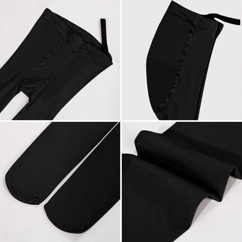 Vertvie Femme 1 ou 3 Pi/èces Leggings Maternit/é Grossesse Pantalons Collant Opaue Slim Minceur Pants Doux Extensible Couleur Solide Taille Haute pour Enceintes