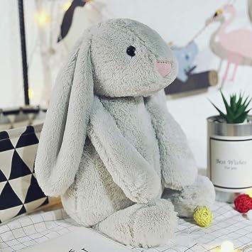 Amazon.com: ABCmall - Cojín de conejo de Pascua de peluche ...