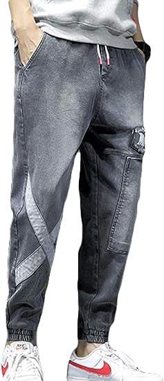 [Ksila]ジーンズ メンズ デニムパンツ 大きいサイズ ジーパン カジュアル ゆったり テーパードパンツ デニム おしゃれ ジョガーパンツ ストリート Gパン