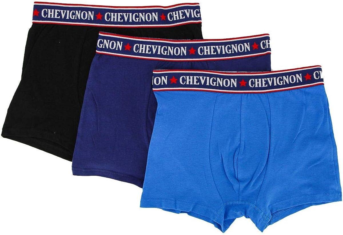 Lot de 3 boxer sans couture enfant garçon Chevignon