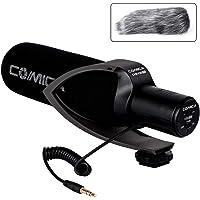 Comica CVM-V30 PRO Camera Microphone Electric Super-Cardioid Directional Condenser Shotgun Video Microphone for Canon…