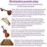 Toykraft: Orchestra is a 36 Piece Jigsaw Puzzle Set for Ages 5 6 7. They Learn About Musical Instruments, Music Genre and Create Their own Orchestra Assembly