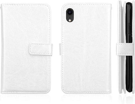 DENDICO Custodia iPhone XR Portafoglio Cover in Pelle per Apple