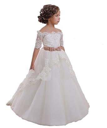 CoCogirls CoCogirls Mädchen Lace Prinzessin Blumenmädchenkleider für ...