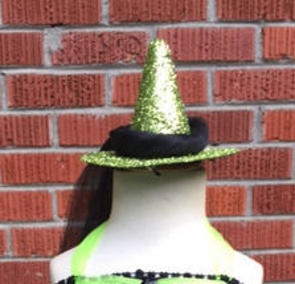 MIni Sparkle Witch Hat Fascinator