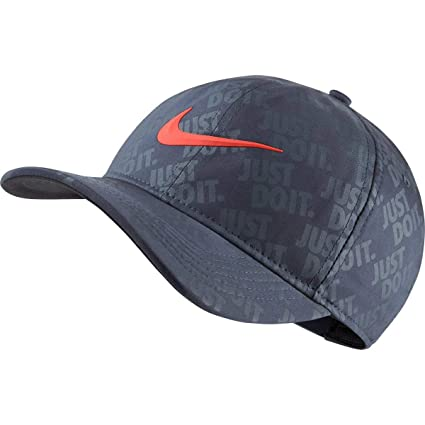 NIKE Golf Classic 99 Limited Edition U.S. Open Golf Snapback Hat Just Do It  (Thunder 703d95ac770