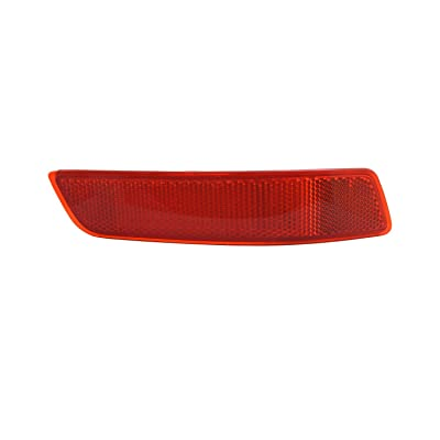 TYC 17-5371-00-1 Compatible with LEXUS Right Replacement Reflex Reflector: Automotive