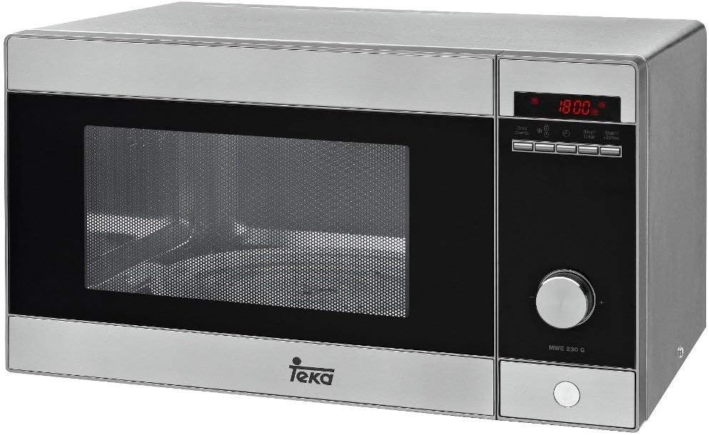Teka MWE 230 G Microondas con grill, 1250 W, 23 litros, Otro, Acero