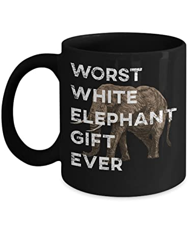 Amazoncom Plg Worst White Elephant Gift Ever Mug Funny Unique