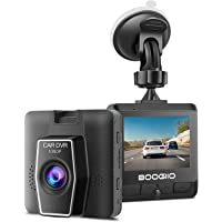 """$46 » Dash Cam Front with 2.4"""" IPS Screen, BOOGIIO 1080P Dash Camera for Cars, Small Driving…"""