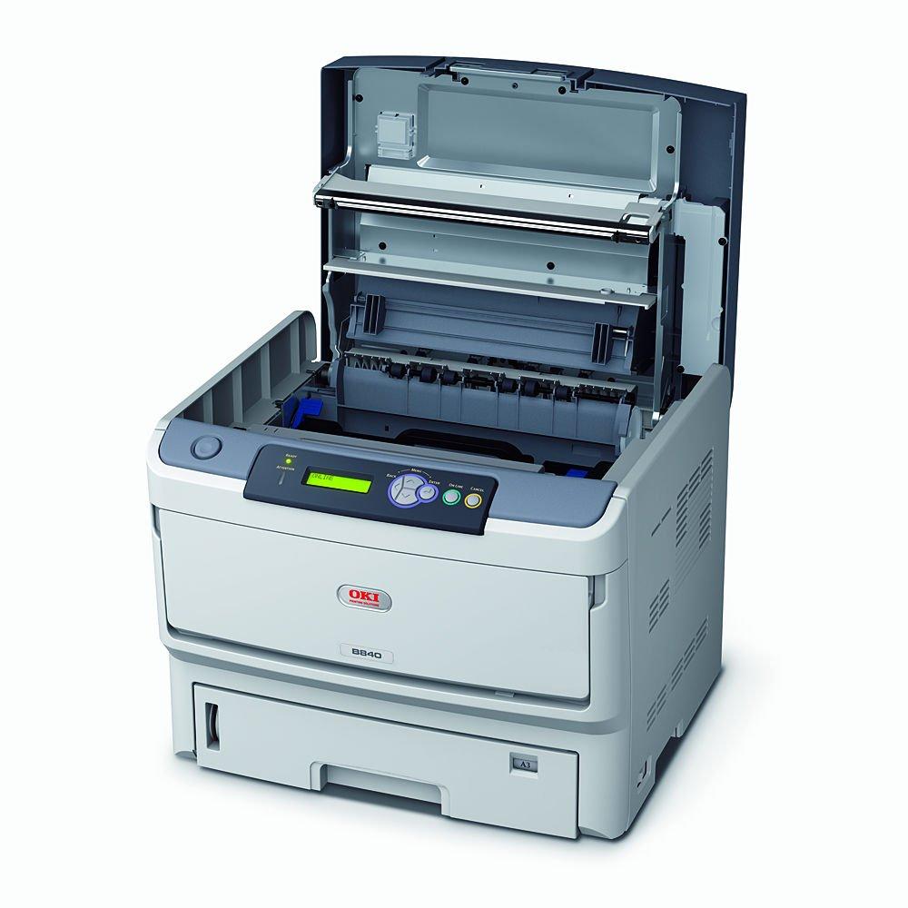 Oki B840Dn - Impresora láser monocromo (A3, 40 ppm ...