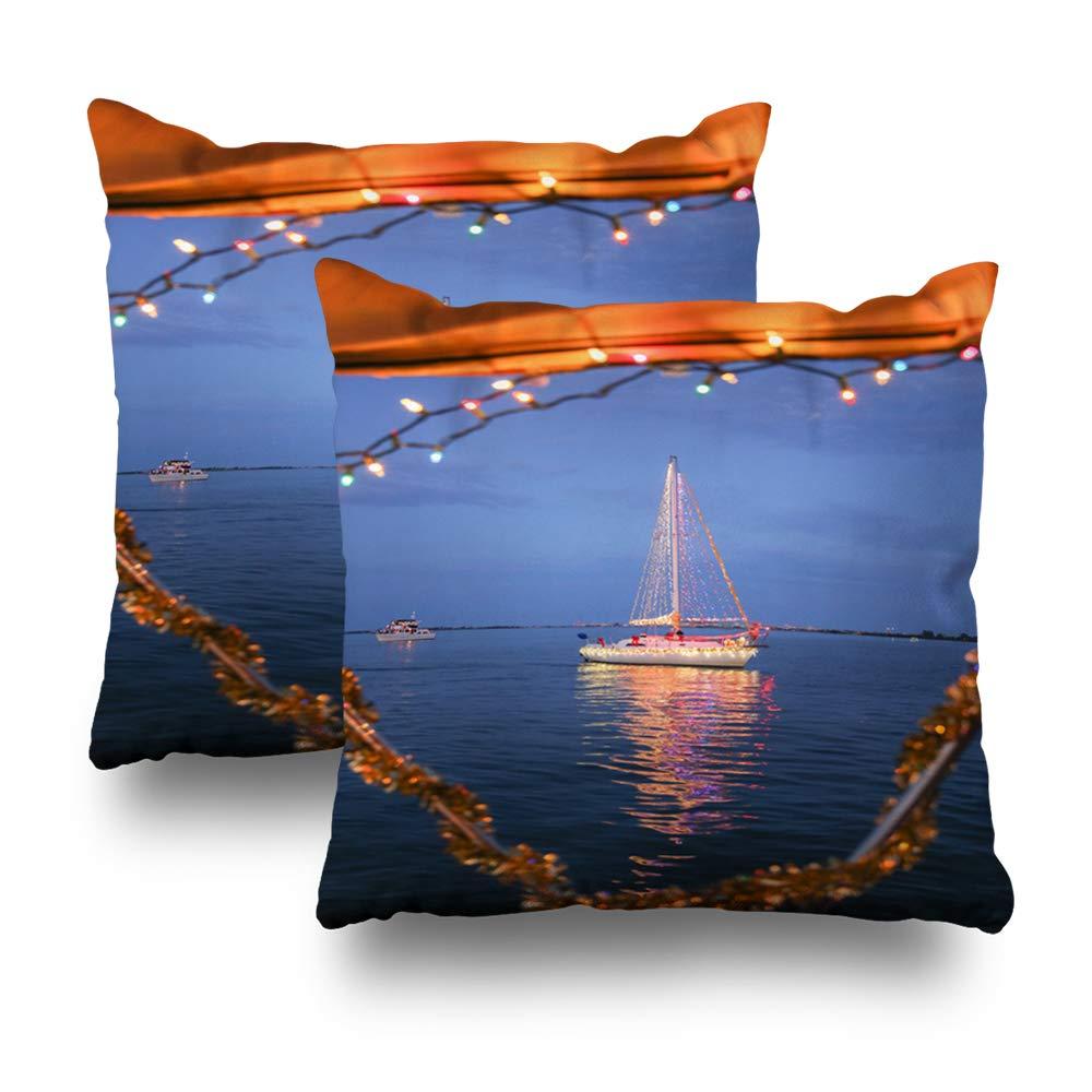 Amazon com: Set of 2 Decorative Pillows Case Throw Pillow
