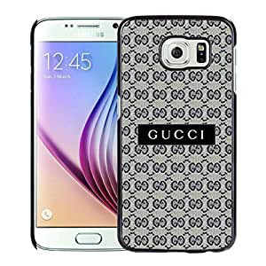 Fahionable Custom Designed Samsung Galaxy S6 Cover Case With Gucci 34 Black Phone Case