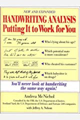 Handwriting Analysis: Putting It to Work for You Paperback