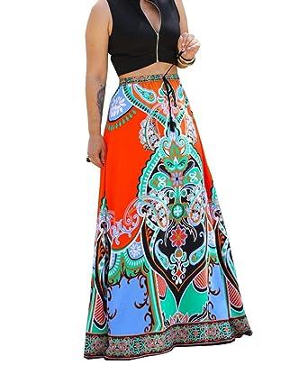 Faldas Mujer Casual Moda De Verano Falda Verano Único De Mujer ...