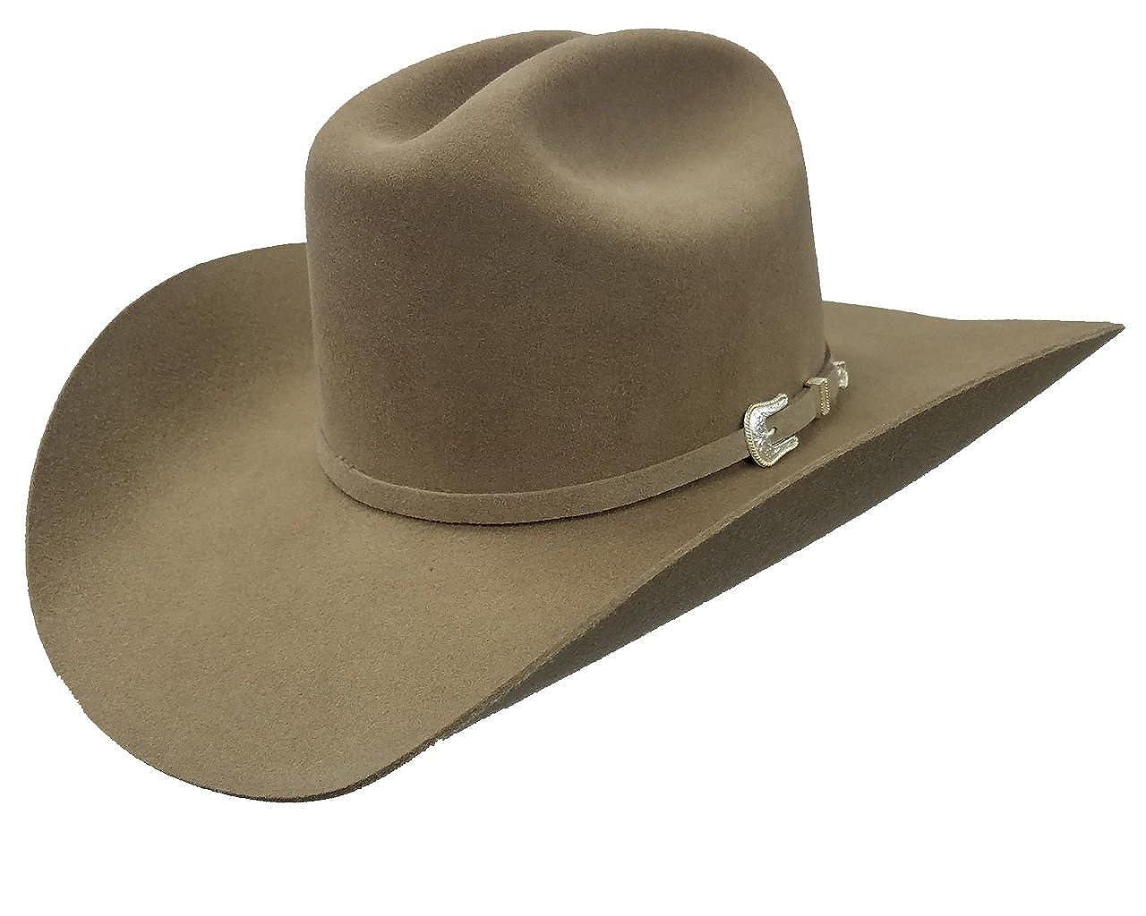 32a01fcfbfcfb Stetson Men s 3X Oakridge Wool Cowboy Hat - Swoakr-724007 Black at Amazon  Men s Clothing store