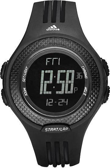 Adidas ADP3055 - Reloj de Caballero de Cuarzo, Correa de Caucho Color Negro: Amazon.es: Relojes