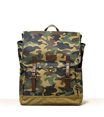 AEO American Eagle Outfitters Men Backpack Green Camo