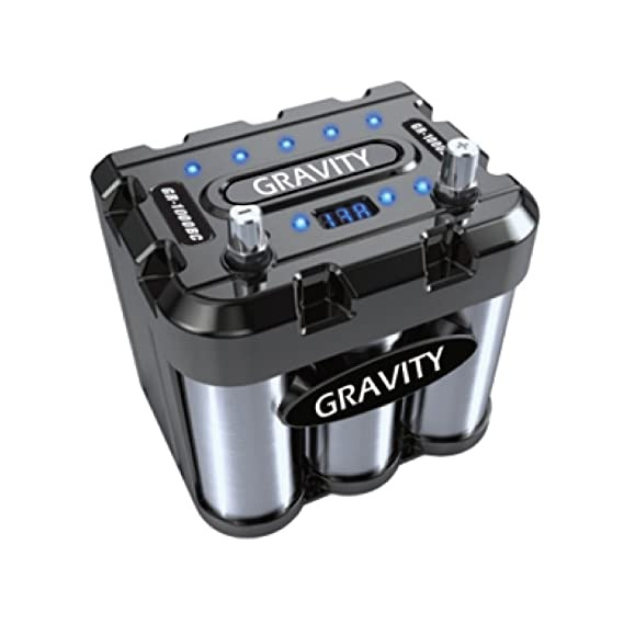 Amazon Com Gravity Audio 1000a Car Battery Capacitor With Led