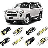BRISHINE White LED Interior Light Kit for 2010-2020 Toyota 4Runner Super Bright 6000K Interior LED Bulbs Package…