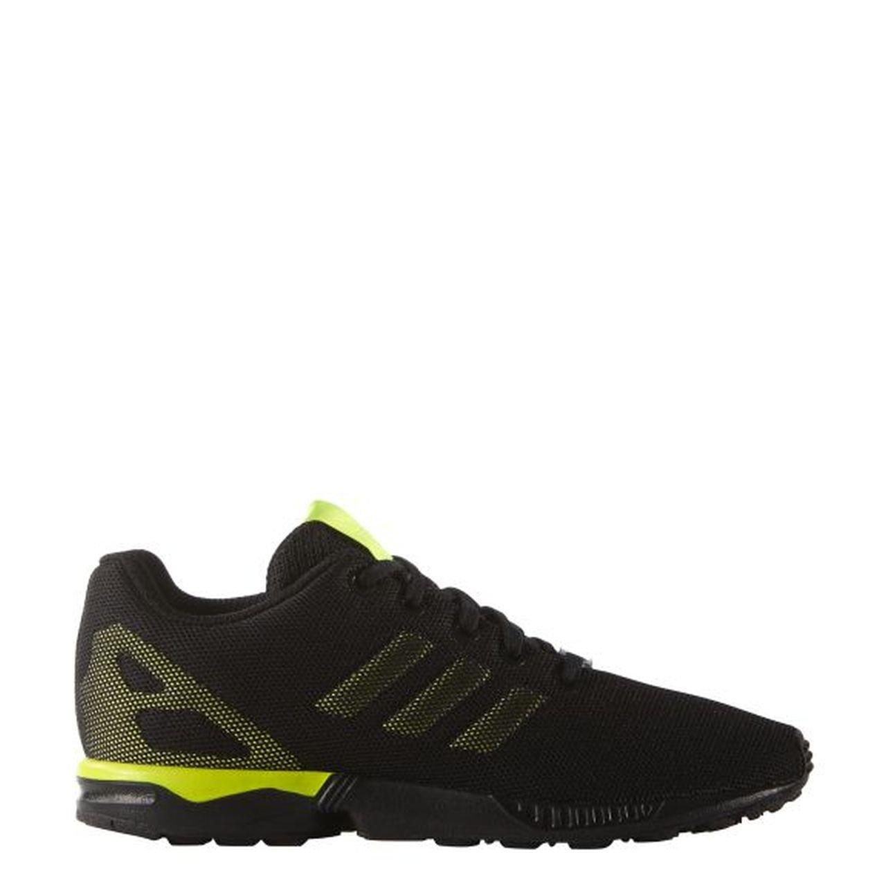 promo code 1c248 5afe5 adidas Boys Originals Junior Boys ZX Flux Trainers in Black ...