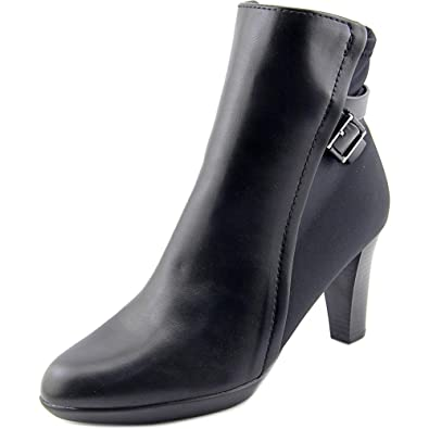 Velvett Women Round Toe Synthetic Black Ankle Boot
